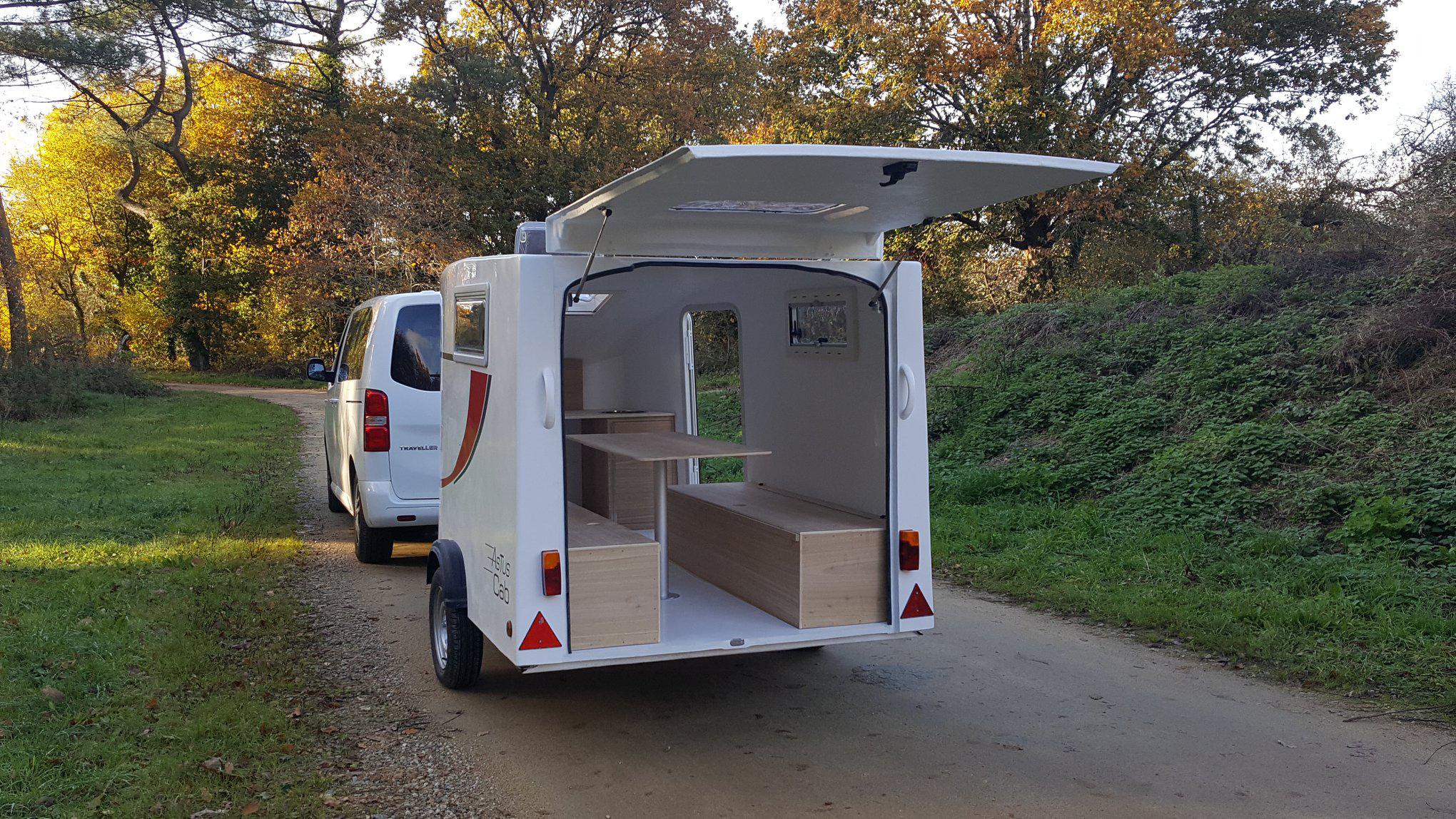 Mini-Caravane teadrop